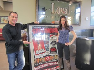 Bob Bekian Producer Scream Documentary at Loyal Studios with Rose McGowan