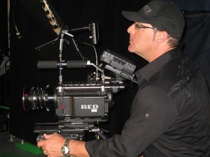 Bob Bekian with RED Camera Directing Commercial