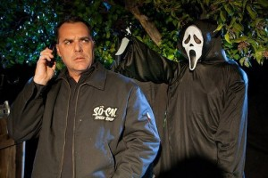Bob Bekian On Set of Scream the Untold Story Produced Documentary